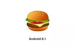 Google chính thức mang phô mai đặt lên trên miếng thịt trong emoji về hamburger mới nhất