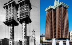 Kỳ lạ tòa nhà được xây ngược từ trên xuống dưới tại Tây Ban Nha