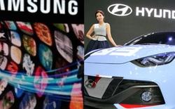 Samsung là thương hiệu có giá trị nhất tại Hàn Quốc, cao gấp 5 lần Hyundai, 10 lần LG