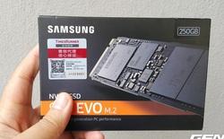Trải nghiệm ổ cứng thể rắn Samsung 960 Evo 250 GB: vô địch trong tầm giá dưới 4 triệu