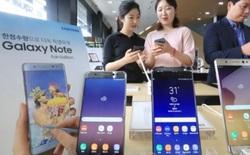 Dù là bản tân trang nhưng Galaxy Note FE vẫn cháy hàng tại quê nhà Hàn Quốc, bán được 400.000 máy