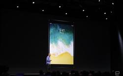 [WWDC 2017] iPad Pro 10,5-inch xuất hiện: chip A10X, màn hình tần số quét 120Hz, giảm độ trễ cho Apple Pencil