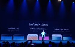 ASUS chính thức ra mắt loạt máy ZenFone 4 series, tất cả đều được trang bị camera kép