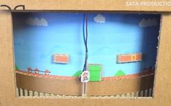 Hướng dẫn làm game Mario từ bìa các-tông cực đỉnh, hội yêu DIY chắc chắn sẽ thích mê