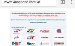 [Cập nhật] Website Vinaphone bất ngờ sập, hiện thông báo hết hạn tên miền