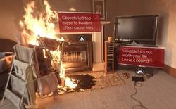 Một vụ hỏa hoạn có thể lan nhanh đến mức nào? Đoạn video gây shock khiến bạn không bao giờ dám đùa với lửa nữa