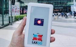 Trên tay thiết bị phát Wifi Laxgo, dùng 3G thoả thích khi đi du lịch theo nhóm