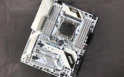 Đánh giá bo mạch chủ MSI X299 Tomahawk Arctic: khác biệt đến từ màu sắc
