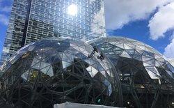 Tới thăm trụ sở cực kỳ hoành tráng của Amazon, thiết kế toàn kính, cửa hàng Amazon Go và những quả cầu khổng lồ