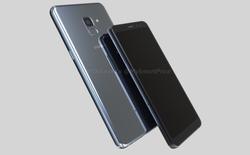 Tiếp tục rò rỉ thiết kế của Galaxy A7 2018: thân kim loại, màn hình viền mỏng, camera đơn