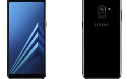 Galaxy A8 (2018) và Galaxy A8+ (2018) lộ diện với camera selfie kép, màn hình vô cực