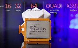 Xuất hiện điểm benchmark của AMD Ryzen Threadripper: không thể ấn tượng hơn