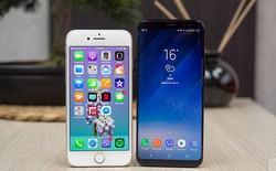 Với iPhone 8 và iPhone X, Apple đã phải dâng vị trí dẫn đầu về thiết kế cho Samsung