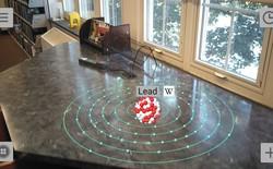 Ứng dụng ARCore đầu tiên tái hiện mô hình 3D nguyên tử ảo trong thế giới thực