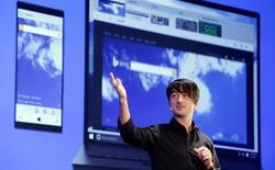 Windows 10 Cloud cũng có thể sử dụng gói ứng dụng văn phòng Office dành cho Desktop, Google nên dè chừng