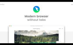 Trình duyệt web Colibri, kẻ đi ngược xu hướng: chỉ có đúng 1 tab, muốn xem site khác thì mở cửa sổ mới nhé