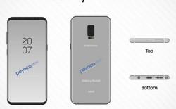 Rò rỉ bản vẽ Galaxy Note 8 với camera kép, cảm biến vân tay nhúng dưới màn hình
