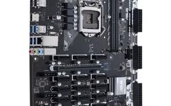 ASUS ra mắt bo mạch chủ chuyên biệt để đào tiền ảo, trang bị tới 19 khe PCIe