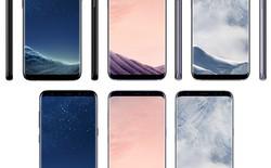 A đây rồi! Các lựa chọn màu sắc và giá thành của Galaxy S8/S8+ cuối cùng cũng đã lộ diện