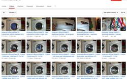 Suốt 9 năm trời, kênh YouTube này đều đặn tải lên hơn 3.000 video về cảnh máy giặt đang quay, có cái đạt 1 triệu views