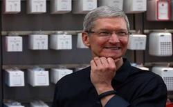 Tim Cook tin rằng cải cách thuế của chính quyền mới sẽ giúp Apple mang tiền mặt từ nước ngoài về Mỹ