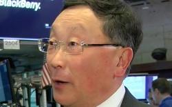 """John Chen: BlackBerry đã """"ra khỏi vòng nguy hiểm"""""""