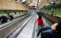 Mất tới 3 phút đi thang máy để ra khỏi tuyến tàu điện ngầm sâu nhất tại Trung Quốc
