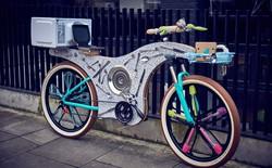 Chiếc xe đạp làm từ... 74 dụng cụ nhà bếp