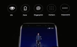 Có thể đăng nhập vào trang web bằng cách sử dụng nhận diện khuôn mặt trên Galaxy S8