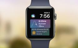 [WWDC 2017] Apple cập nhật watchOS 4, mang Siri lên đồng hồ thông minh