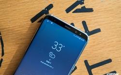 Mở hộp siêu phẩm Galaxy S8+ chính hãng tại Việt Nam, đẹp không tì vết