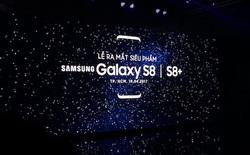 Samsung chính thức công bố giá bán Galaxy S8 tại Việt Nam, S8+ giá 20,49 triệu, S8 giá 18,49 triệu, lên kệ từ ngày 5/5