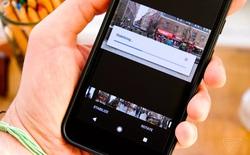 Google Photos nay có thể xóa rung cho video đã quay xong