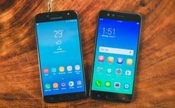So sánh giao diện Samsung Galaxy J7 Pro và OPPO F3: Khác biệt không chỉ nằm ở phiên bản Android