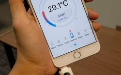 Trên tay nhiệt kế thông minh Croise.a: Nhỏ gọn, dễ sử dụng, an toàn, kết quả chính xác
