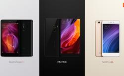Loạt smartphone Xiaomi chính thức cập bến Việt Nam, bao gồm Mi Mix bản 18K với giá 17 triệu đồng