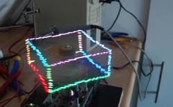 Máy chiếu 3D cực ảo diệu cho phép bạn chơi tựa game huyền thoại Rắn săn mồi sống động như thật