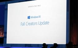 Lenovo làm lộ ngày ra mắt của Windows 10 Fall Creators Update, lùi sang tháng Mười