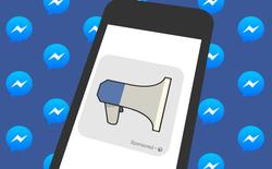 Hết dần không gian trên News Feed, Facebook thử nghiệm đặt quảng cáo trên Messenger