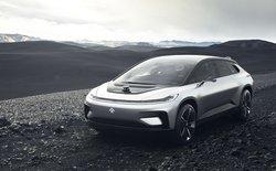 [CES 2017] Faraday Future tưởng chừng đã chết bất ngờ ra xe tự lái chạy điện mới đe dọa Tesla