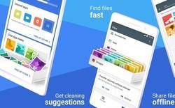 Google Files Go đã có bản chính thức, tải về từ Google Play
