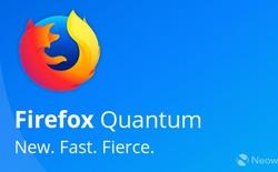 Mozilla Firefox 57 có tên chính thức là Firefox Quantum