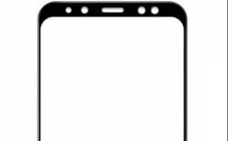Lộ diện mặt trước của Galaxy A8 (2018): Màn hình vô cực, camera selfie kép
