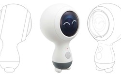 Samsung sẽ nâng cấp Gear 360 VR vào năm tới: đặt đâu cũng đứng được, quay video 4K, thiết kế rất dễ thương