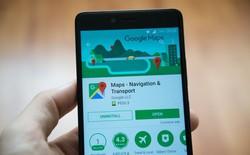 """Google Maps vừa được """"đại tu"""" giao diện, biểu tượng mới, màu sắc mới"""
