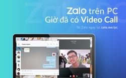 Zalo đã cho phép người dùng gọi video trên PC, laptop siêu nhanh và ổn định
