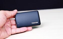 Tặng ổ cứng di động SSD Toshiba X10, 120GB, giá hơn 2 triệu đồng khi tham gia mini game