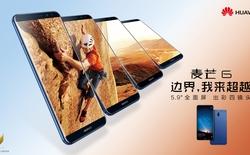 Huawei Maimang 6 chính thức ra mắt: Màn hình Full Vision tỷ lệ 18:9, bốn camera