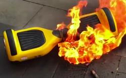 Hoverboard Trung Quốc cháy nổ khiến 2 đứa trẻ thiệt mạng tại Mỹ, Ủy ban an toàn kêu gọi dừng sử dụng sản phẩm