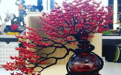 Chiêm ngưỡng cây Bonsai làm từ... 1000 con hạc giấy của nghệ nhân Nhật Bản